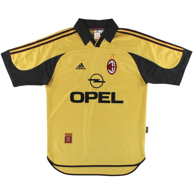 1999-00 AC Milan adidas Centenary Fourth Shirt M