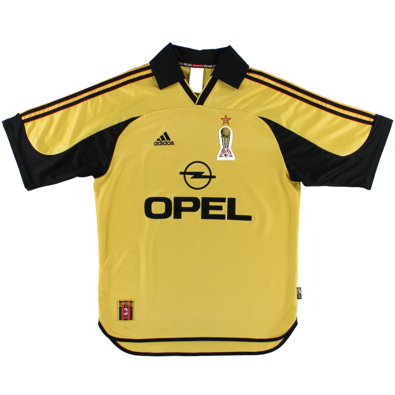 1999-00 AC Milan Centenary Fourth Shirt M