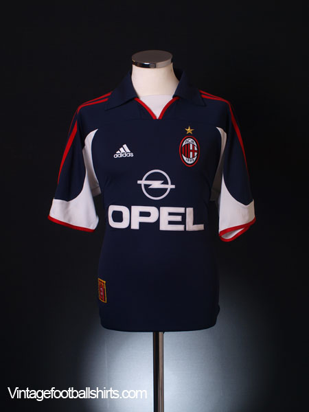 1999-00 AC Milan Centenary Third Shirt M