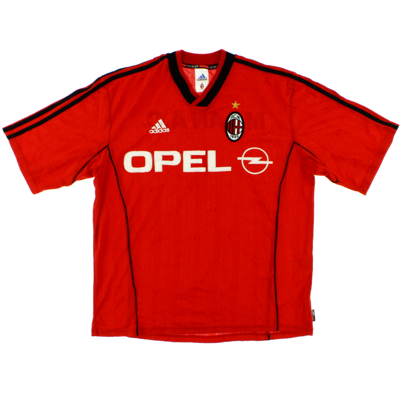 1999-00 AC Milan Player Issue Training Shirt *Mint* L - 627136
