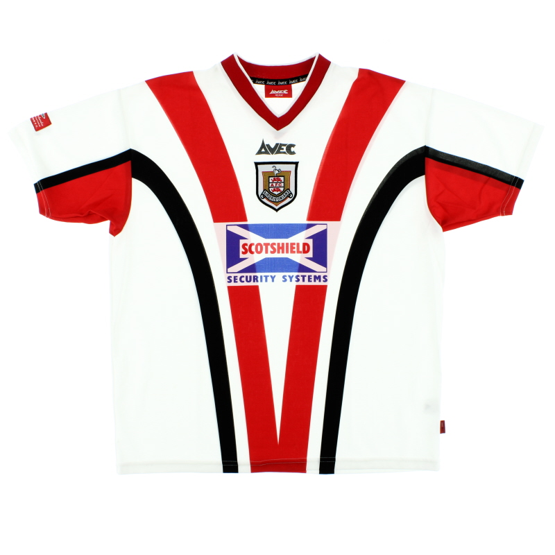 1999-00 Airdrieonians Home Shirt L