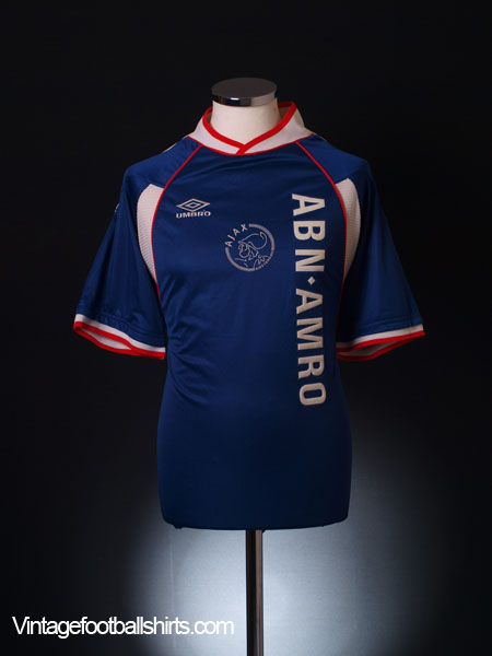 1999-00 Ajax Away Shirt L