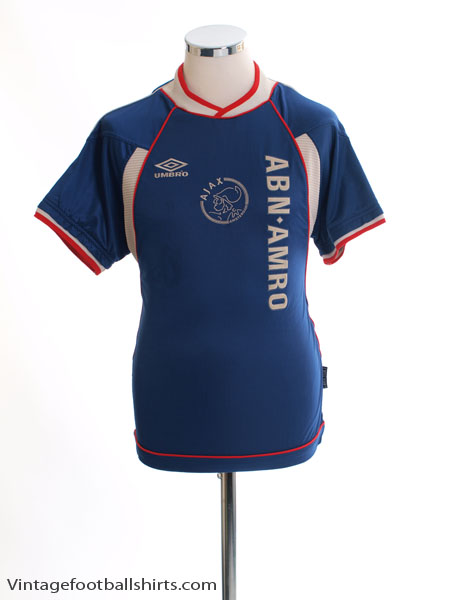 1999-00 Ajax Away Shirt S