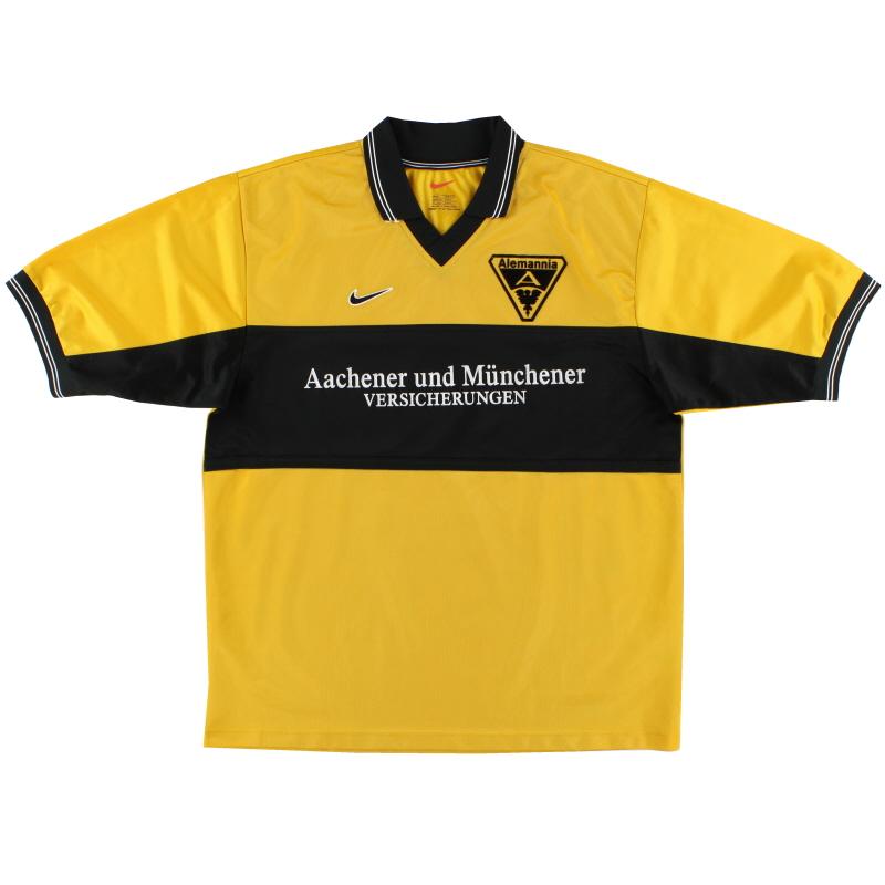 1999-00 Alemannia Aachen Home Shirt L