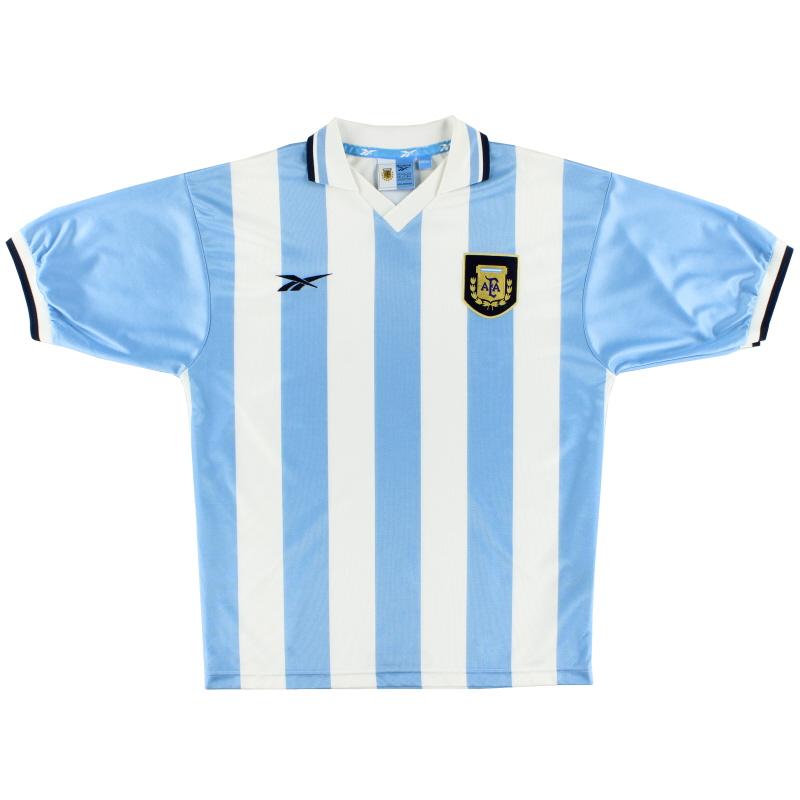 1999-00 Argentina Home Shirt M