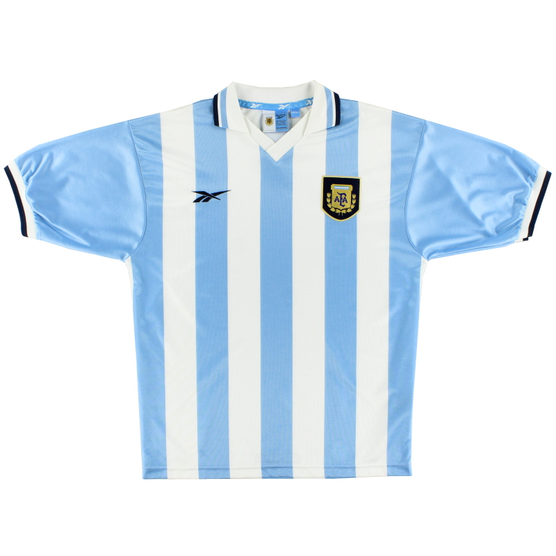 1999-00 Argentina Home Shirt XL