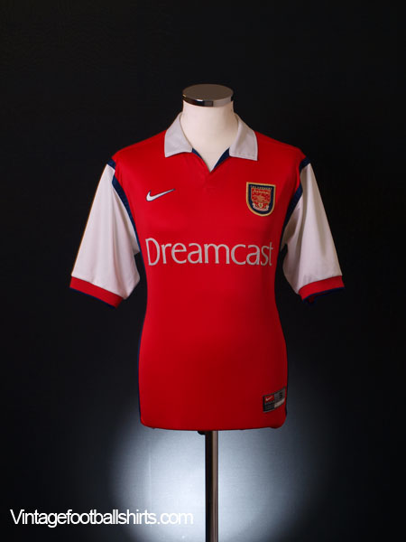1999-00 Arsenal Home Shirt XL