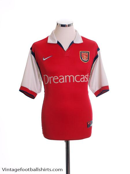 1999-00 Arsenal Home Shirt S