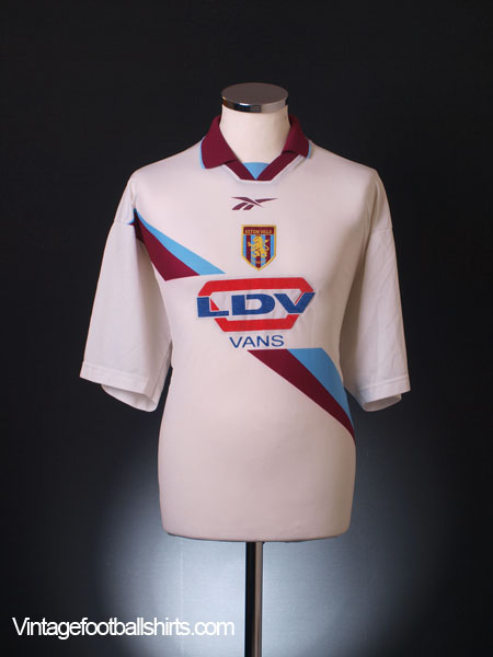 1999-00 Aston Villa Away Shirt L
