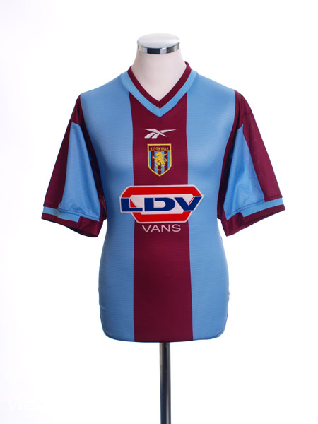 1999-00 Aston Villa Home Shirt S