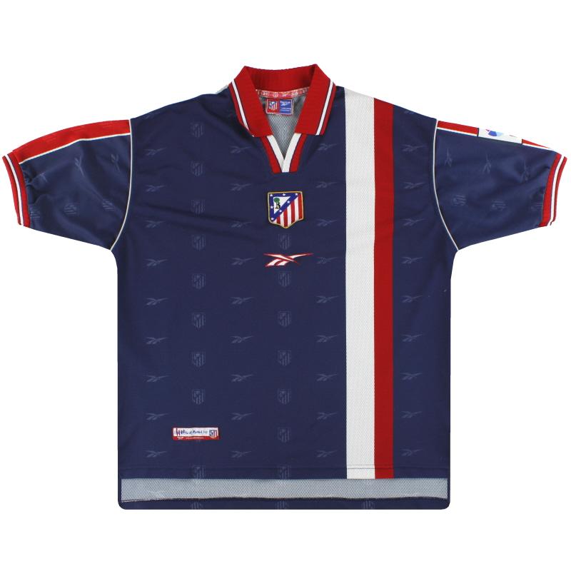 1999-00 Atletico Madrid Reebok Away Shirt XXL
