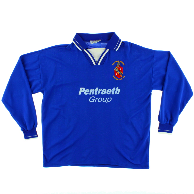 1999-00 Bangor City Home Shirt L/S XL