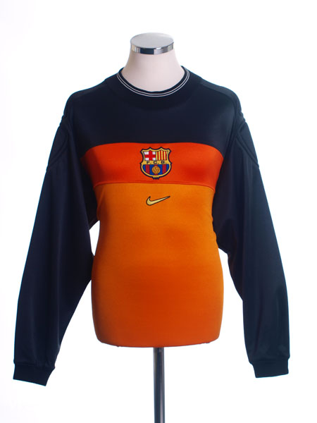 1999-00 Barcelona Centenary Goalkeeper Shirt L