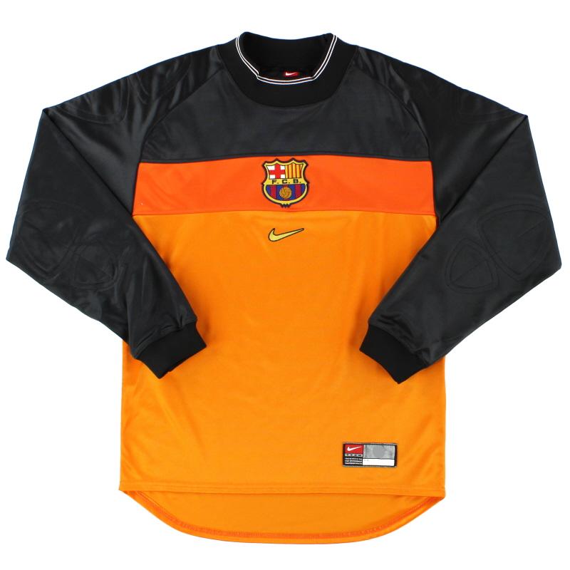 1999-00 Barcelona Goalkeeper Shirt S