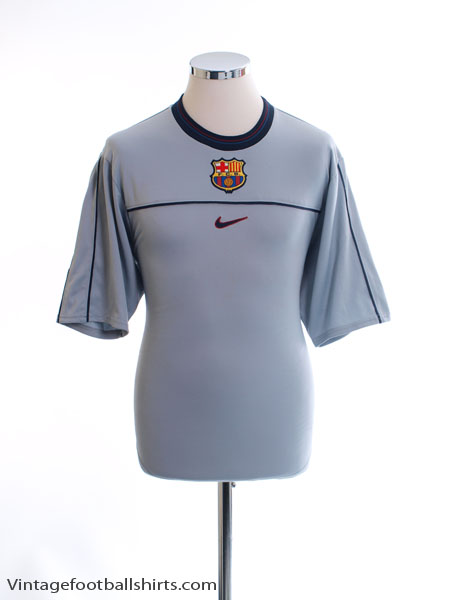 1999-00 Barcelona Training Shirt S