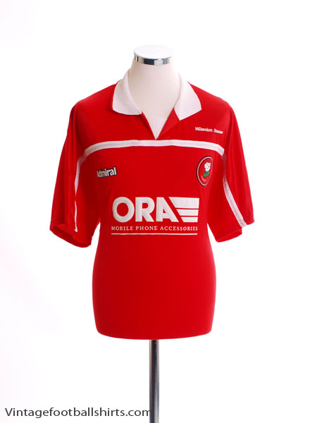 1999-00 Barnsley Home Shirt L