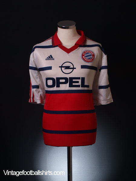 1999-00 Bayern Munich Away Shirt XL.Boys