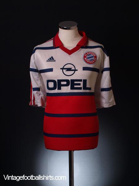 1999-00 Bayern Munich Away Shirt XL