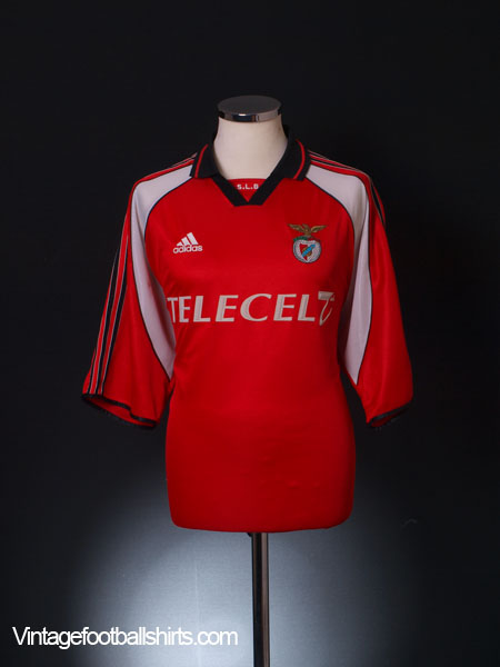 1999-00 Benfica European Home Shirt XL
