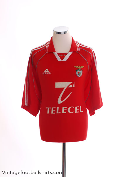 1999-00 Benfica Home Shirt XL