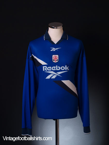 1999-00 Bolton Away Shirt L/S XL
