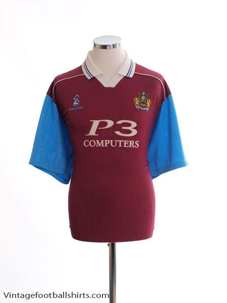 1999-00 Burnley Home Shirt L