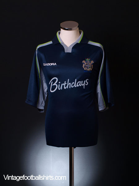 1999-00 Bury Away Shirt *Mint* L