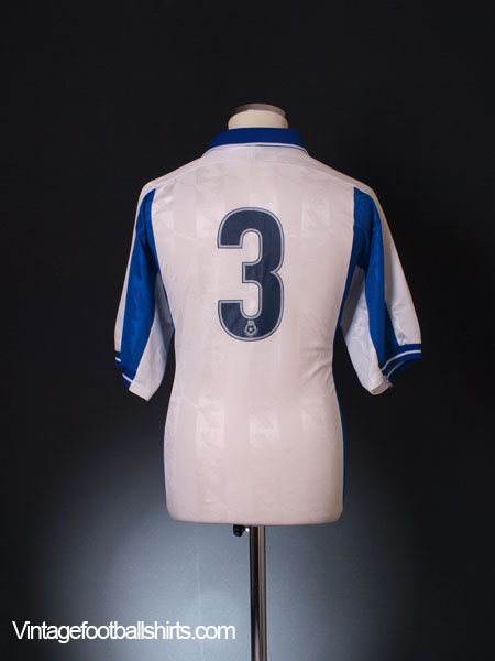 1999-00 Bury Player Issue Reserves Home Shirt #3 M