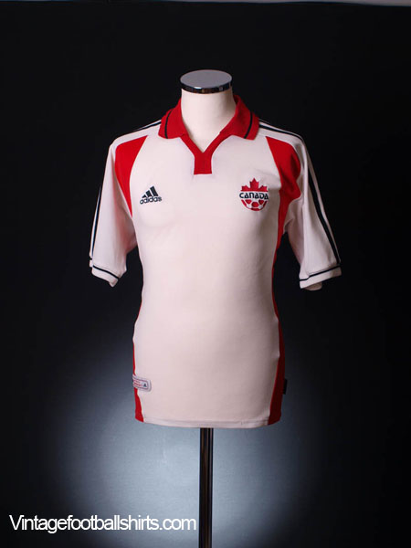 1999-00 Canada Away Shirt S