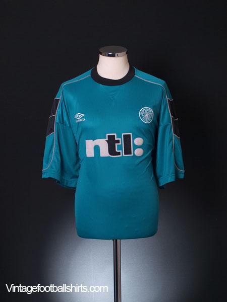 1999-00 Celtic Umbro Training Shirt XXL