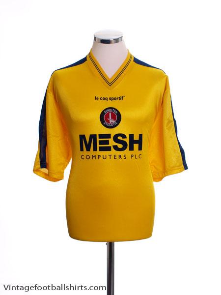 1999-00 Charlton Away Shirt L