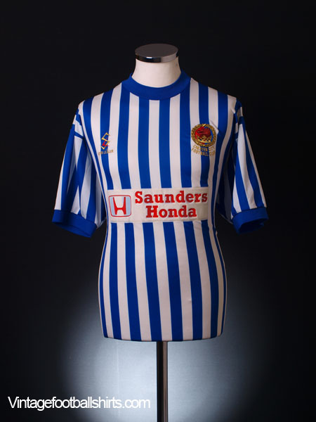 1999-00 Chester Home Shirt L