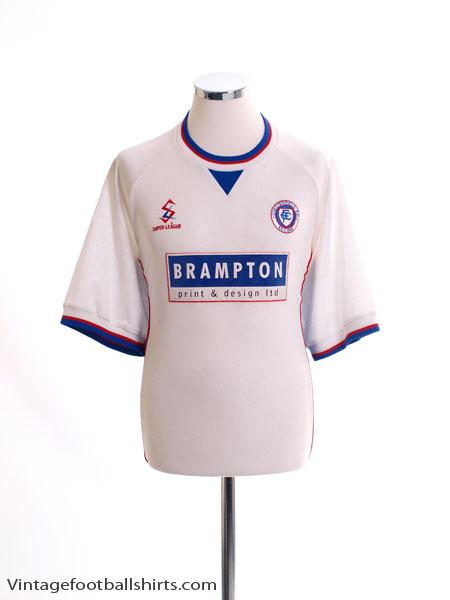 1999-00 Chesterfield Away Shirt L