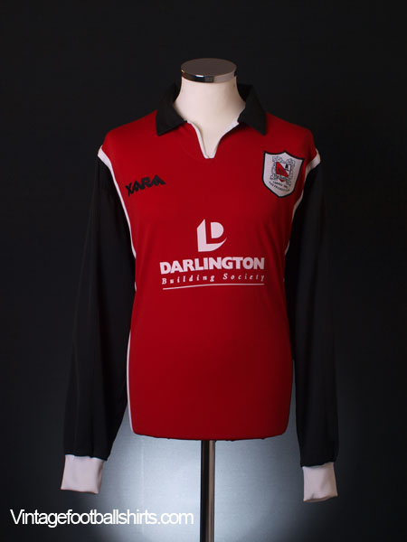 1999-00 Darlington Away Shirt L/S XL