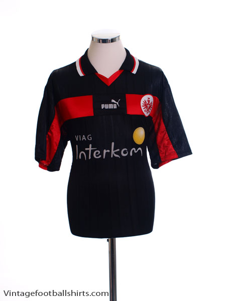 1999 00 eintracht frankfurt home shirt m for sale. Black Bedroom Furniture Sets. Home Design Ideas