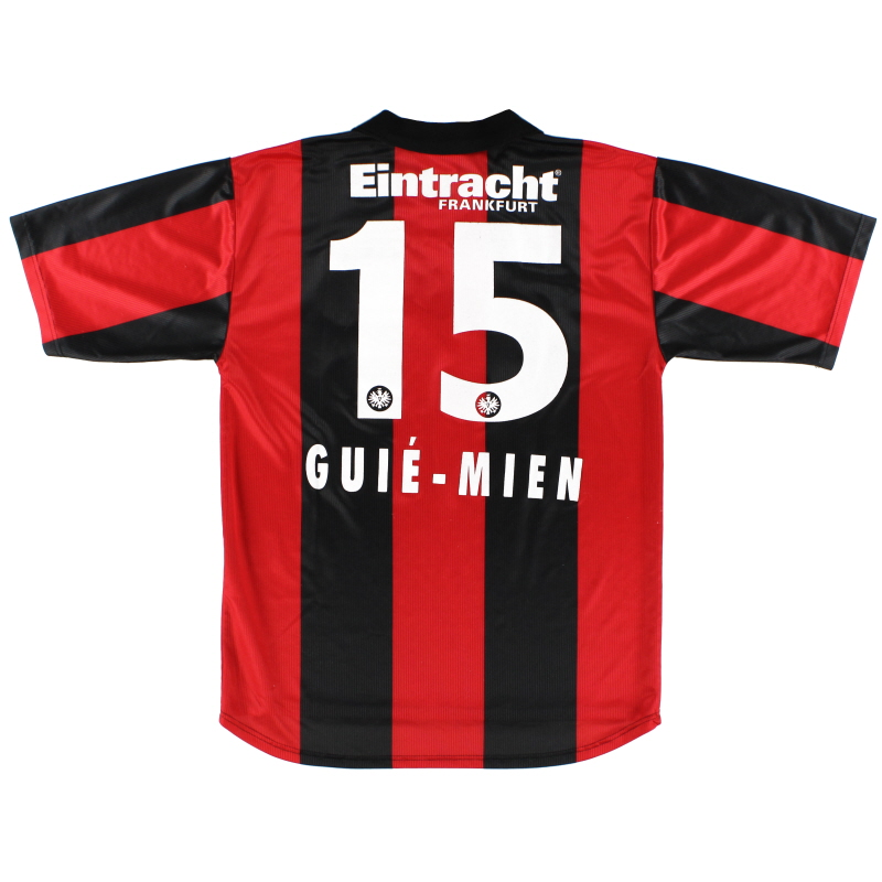 1999-00 Eintracht Frankfurt Home Shirt Guie-Mien #15 M