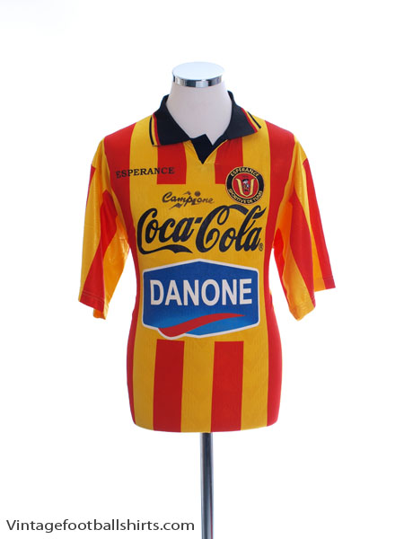 1999-00 Esperance Tunis Match Issue Home Shirt #11 L