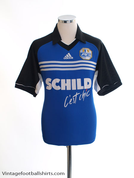 1999-00 FC Luzern Home Shirt L