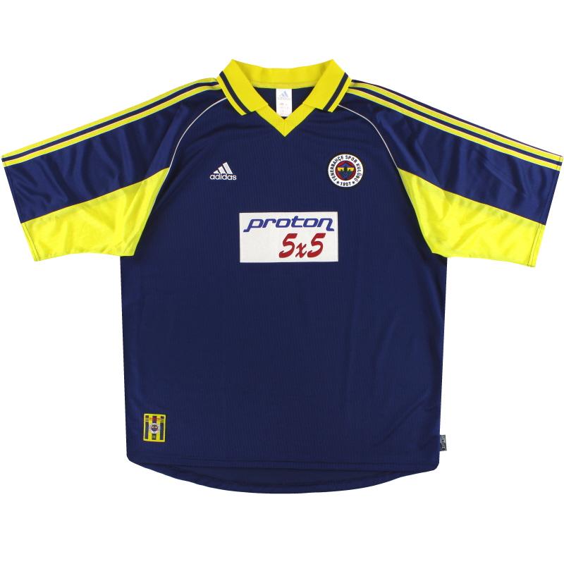 1999-00 Fenerbahce adidas Away Shirt XXL - 635644