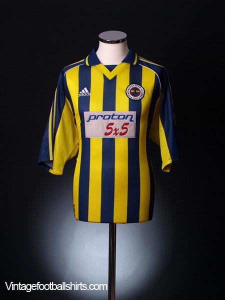 1999-00 Fenerbahce Home Shirt S