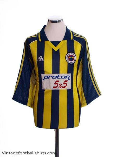 1999-00 Fenerbahce Home Shirt M
