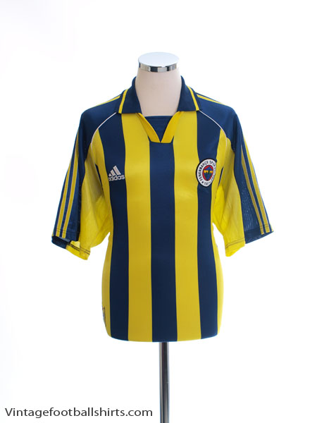 1999-00 Fenerbahce Home Shirt *Mint* S
