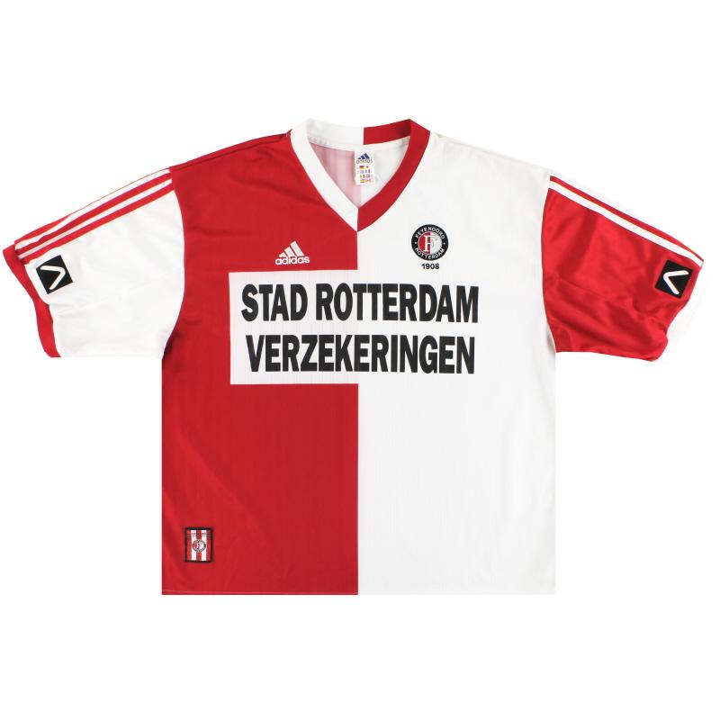 1999-00 Feyenoord adidas Home Shirt XXL - 635700