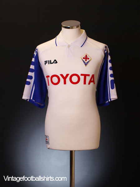 1999-00 Fiorentina Away Shirt XL