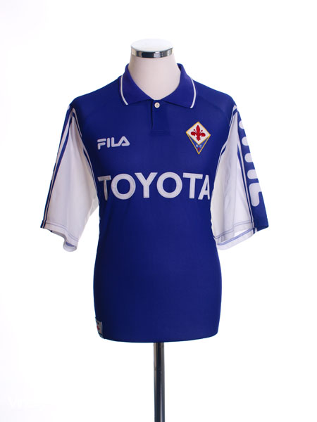 1999-00 Fiorentina Home Shirt L