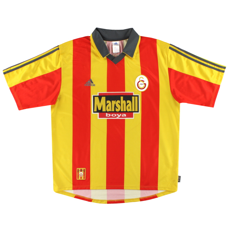 1999-00 Galatasaray adidas Home Shirt XL - 635656