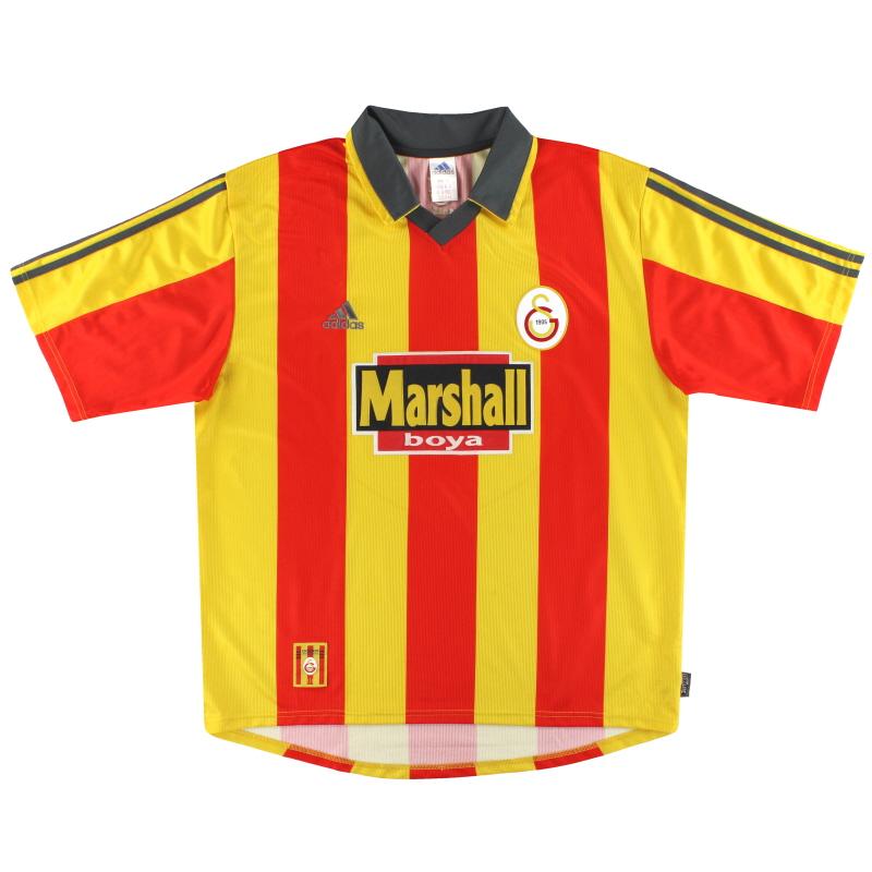 1999-00 Galatasaray adidas Home Shirt L - 635656