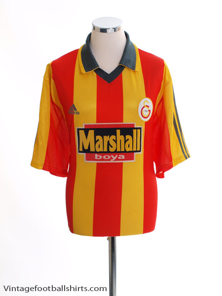 1999-00 Galatasaray Home Shirt XL - 635656
