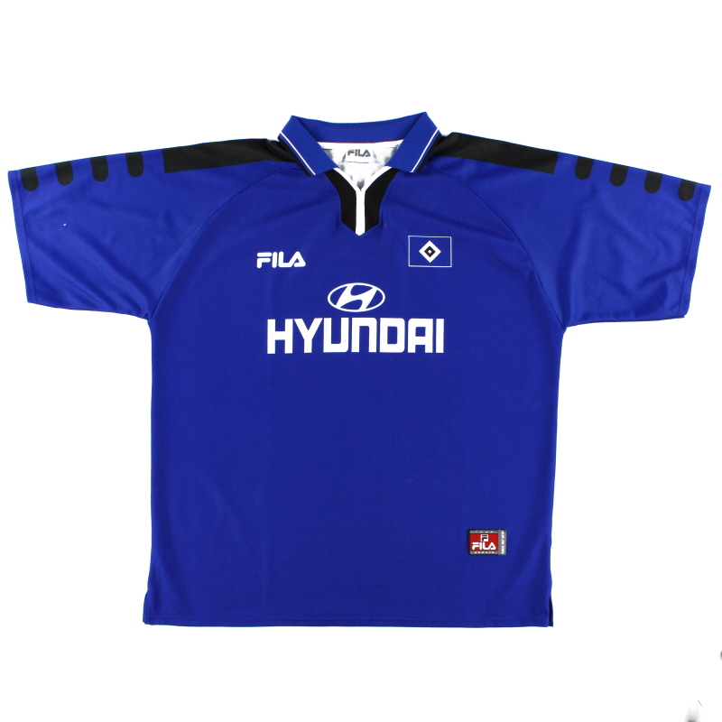 1999-00 Hamburg Away Shirt L