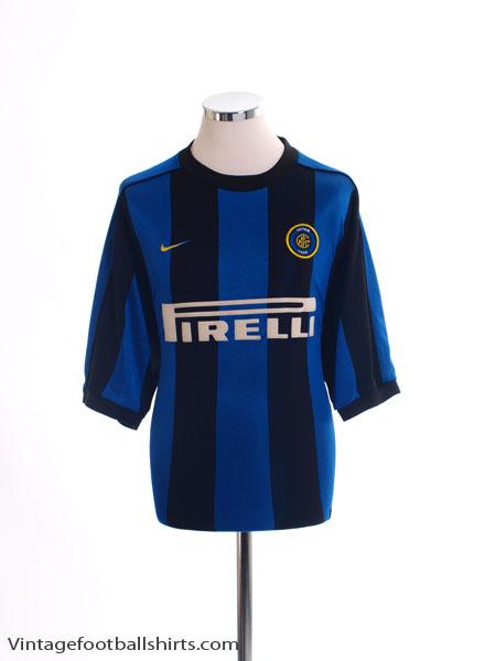 1999-00 Inter Milan Home Shirt L